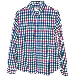 Old Navy Regular Fit Plaid Checkered Shirt A040125